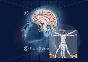 Medical Art ganzheitliche Medizin und wissenschaftliche Forschung - Medical Pictures