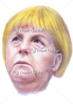 Wahlen 2013, Bundestagswahl mit Kanzlerin Angela Merkel, Bundesvorsitzende der CDU, Bundeskanzlerin in Deutschland - Medical Pictures